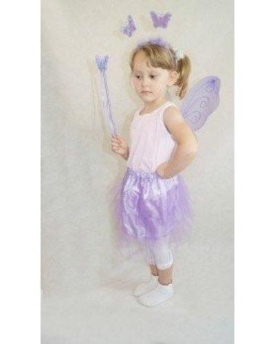 Magicoo Paarse vlinderjurk kinderen