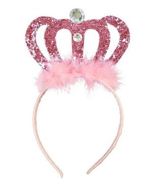 Magicoo Diadeem roze Kroontje