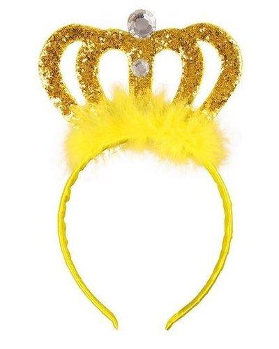 Magicoo Diadeem geel-goud