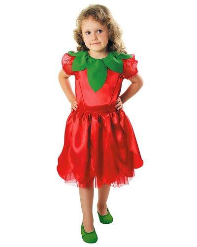 Magicoo Rode bloem kostuum kinderen