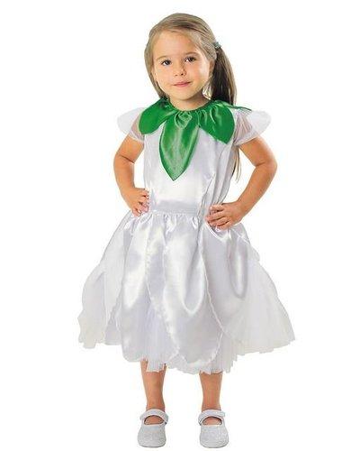 Magicoo Witte bloem kostuum kinderen