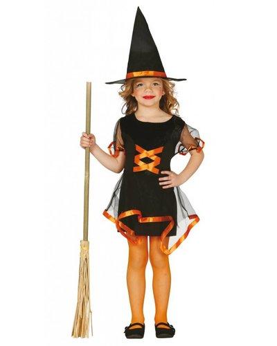 Magicoo Korte heksenjurk meisjes