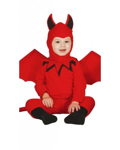 Magicoo Duivel pak voor baby's en peuters