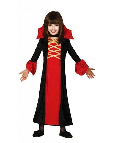 Magicoo Lange vampier jurk kind
