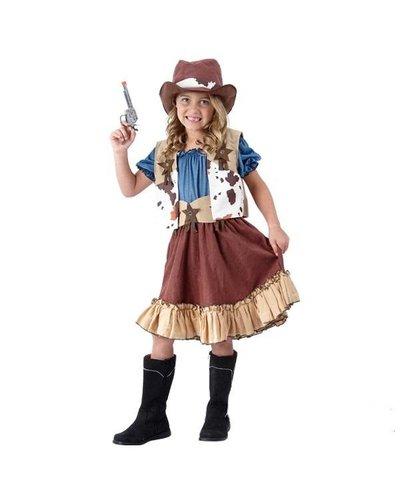 Magicoo Cowgirl kostuum voor kinderen