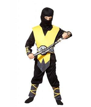 Magicoo Geel Ninja pak kinderen