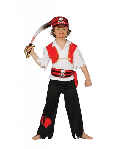 Magicoo Piraten kostuum jongens