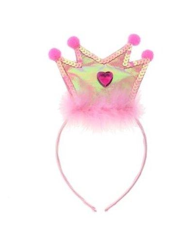 Magicoo Kroon prinses diadeem roze