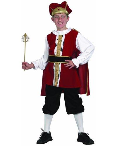 Magicoo Koning kostuum voor kinderen