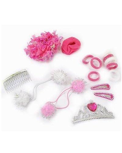 Magicoo Prinsessen haarset met haarclips, elastieken en haarbandjes