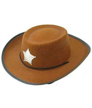 Magicoo Bruine cowboyhoed voor kinderen