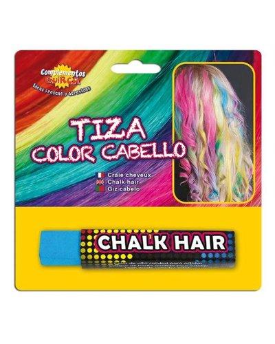 Magicoo Lichtblauw uitwasbaar haar kalk haarkrijt