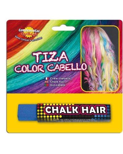 Magicoo Donker blauw uitwasbaar haar kalk haarkrijt