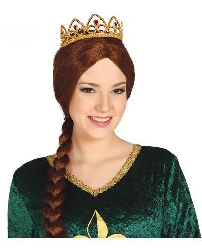 Magicoo Prinsessen tiara goud