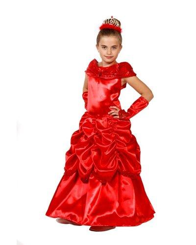 Magicoo Rode lange prinsessenjurk