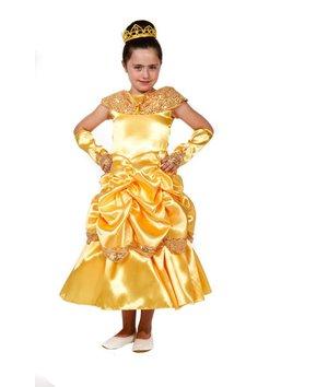 Magicoo Gele prinsessenjurk Belle