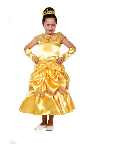 Magicoo Gele prinsessenjurk