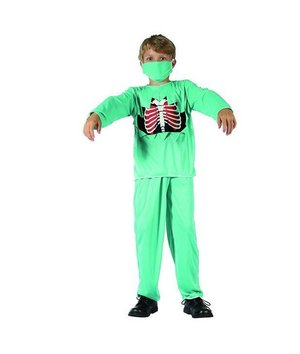 Magicoo Dokter zombie kostuum kind halloween