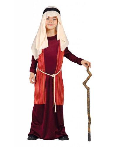 Magicoo Jozef kostuum kind rood