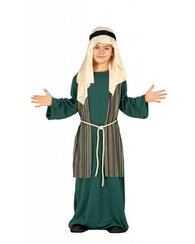 Magicoo Jozef kostuum kind groen