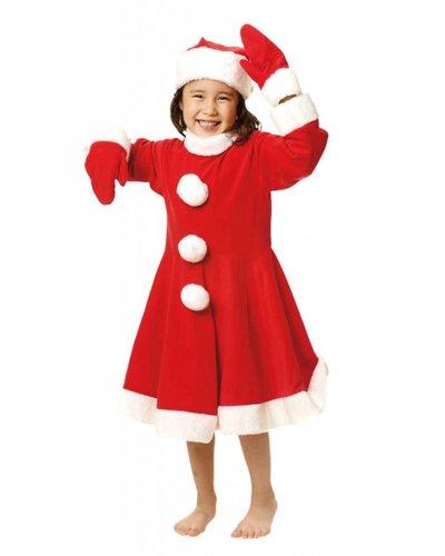 Magicoo Kerstman pak voor meisjes