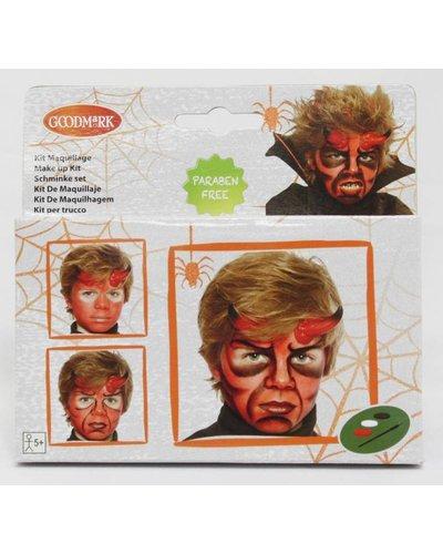 Magicoo Schminkset duivel voor Halloween