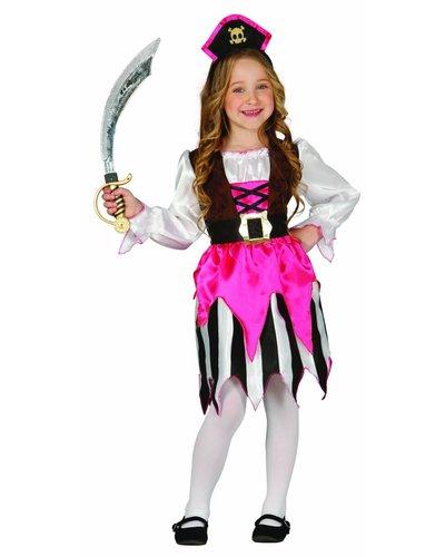 Magicoo Roze piratenpak meisjes