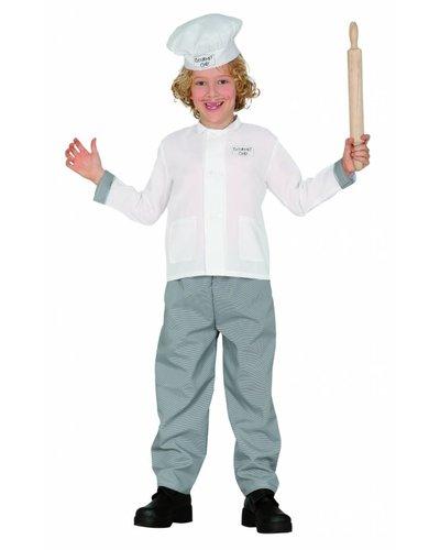 """Magicoo Kok kostuum kinderen kokspak""""Gourmet"""""""