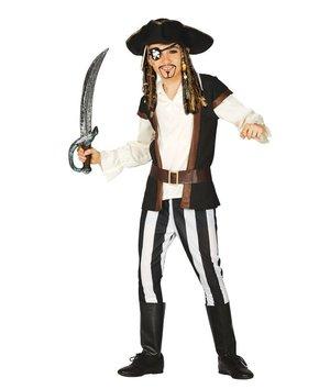 Magicoo Piratenpak Jack Sparrow voor jongens