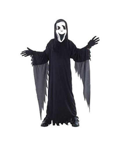 Magicoo Zwart spook kostuum kinderen