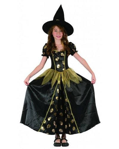 Magicoo Heksenkoningin  goud-zwart