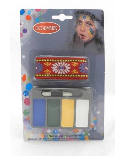 Magicoo Schminkset indiaan met haarband