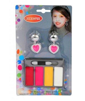 Magicoo Schminkset met oorclips voor prinsessen