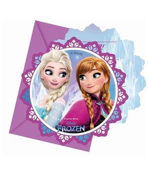 Frozen party uitnodigingen