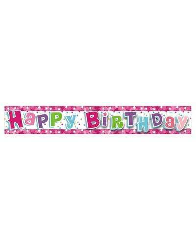 Magicoo Roze verjaardags banner