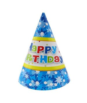Magicoo Verjaardags hoedjes blauw