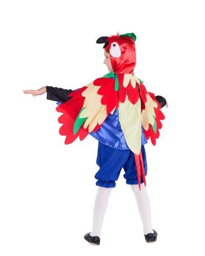 Magicoo Papegaaienpak kinderen (incl broek) (4-9 jaar)