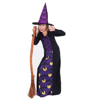 Magicoo Heksenjurk Halloween voor meisjes