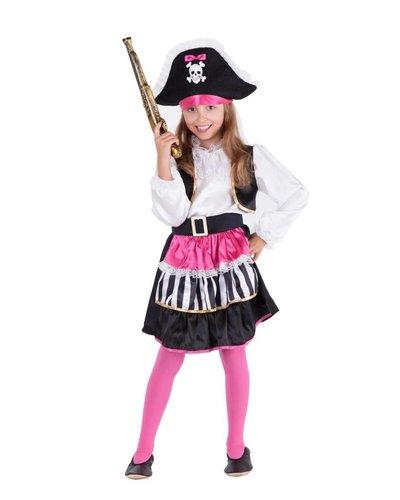 Magicoo Roze piratenjurk meisjes