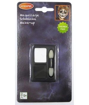 Magicoo Halloween schminkset zwart-wit