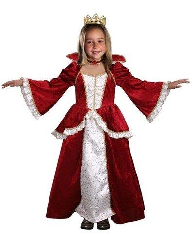 Magicoo Koninginnenjurk Elisabeth voor kinderen
