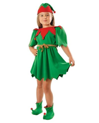 Magicoo Elfenjurk meisjes kerst deluxe