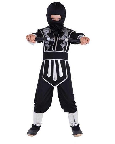 Magicoo Zwart zilveren ninja pak
