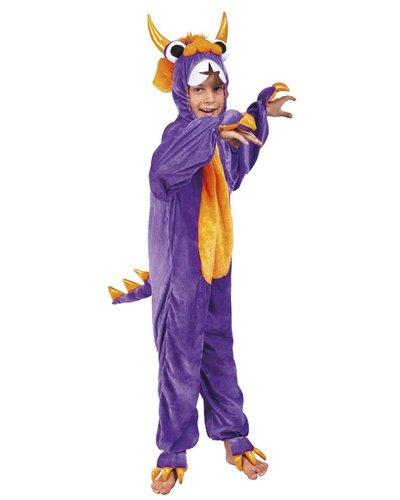 Magicoo Monster kostuum kinderen paars