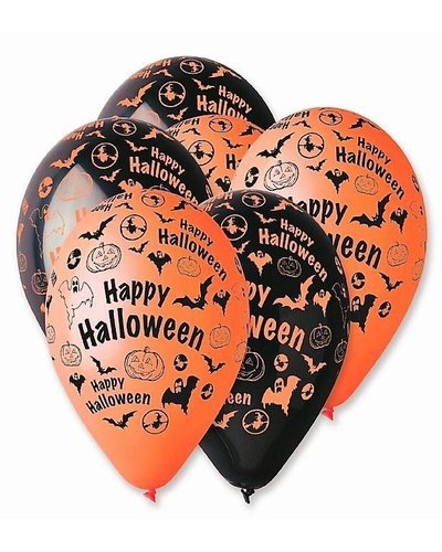 "Magicoo 5 ballonnen ""Happy Halloween"""
