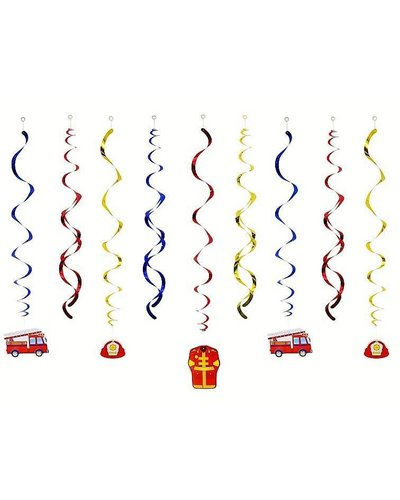 Magicoo Hangende decoratie met brandweer motief