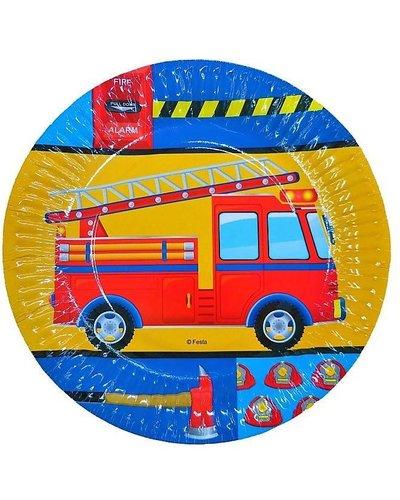 Magicoo 6 partyborden brandweer