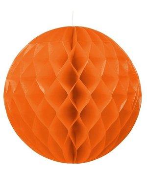Magicoo Party Honeycomb versiering oranje - 30 cm