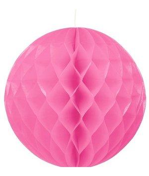 Magicoo Party Honeycomb versiering roze - 30 cm