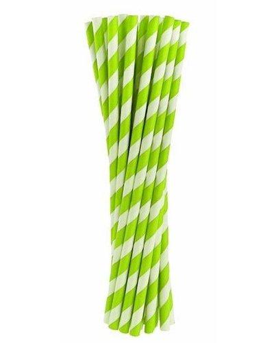 Magicoo Rietjes groen gestreept
